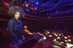 Kandace Springs soloist with Metropole Orkest BBC Proms Royal Albert Hall 2017