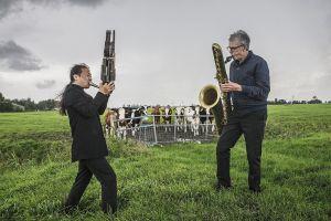 Wu Wei %26 Klaas Hekman Zomer Jazz (F)iets Tour Oostum 2020