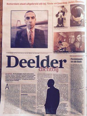 Jules Deelder 70 jaar.