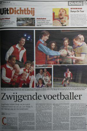 Hofplein Rotterdam Feyenoord Forever AD Dijlan van Vlimmeren