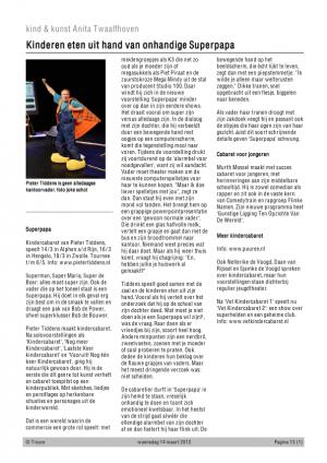 Trouw  Recensie AnitaTwaalfhoven